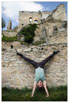 American Handstand in Niederösterreich