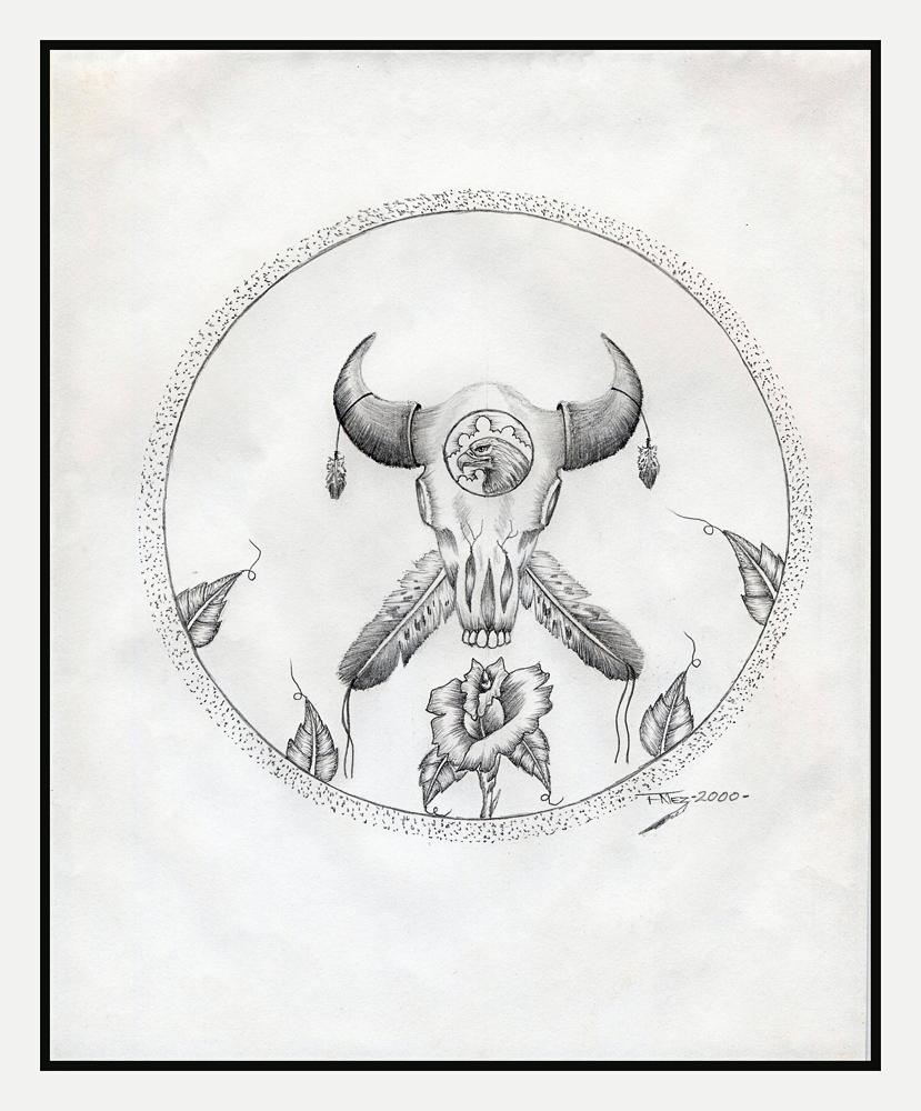 American Indian drawing
