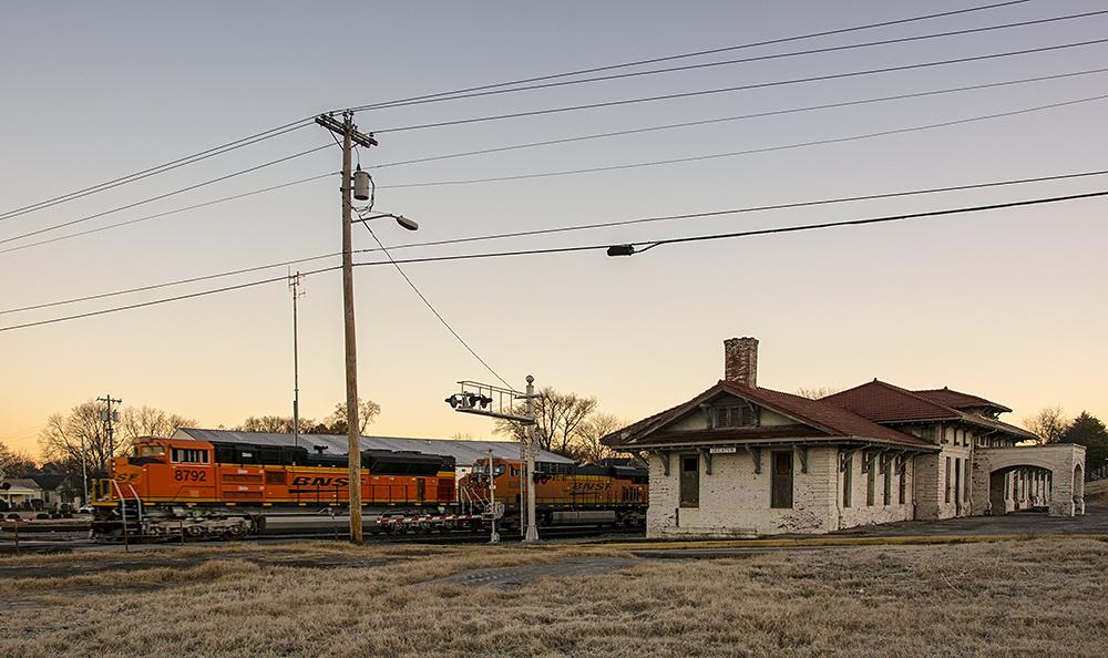 Americana: Decatur Railway Station