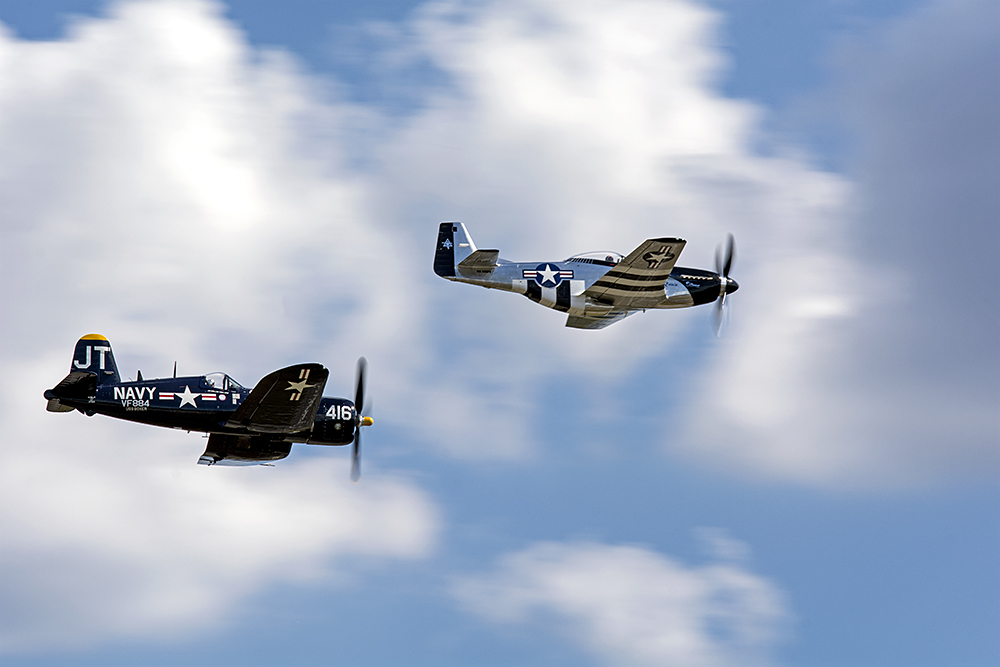 Americana: Mustang and Corsair