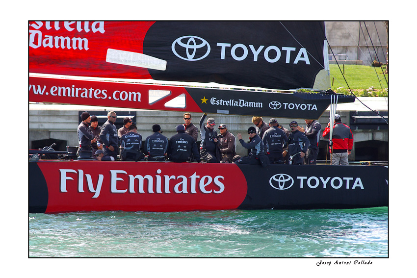 America's Cup Teams - Fly Emirates