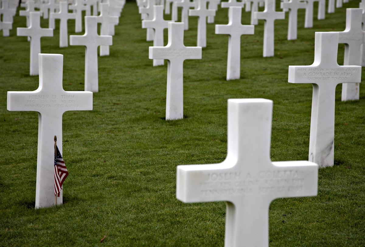 Amerikanischer Friedhof in St. Avold/Lothringen