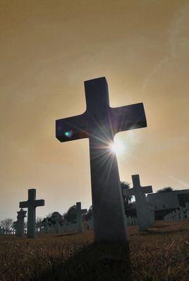 Amerikanischer Soldatenfriedhof in Belgien