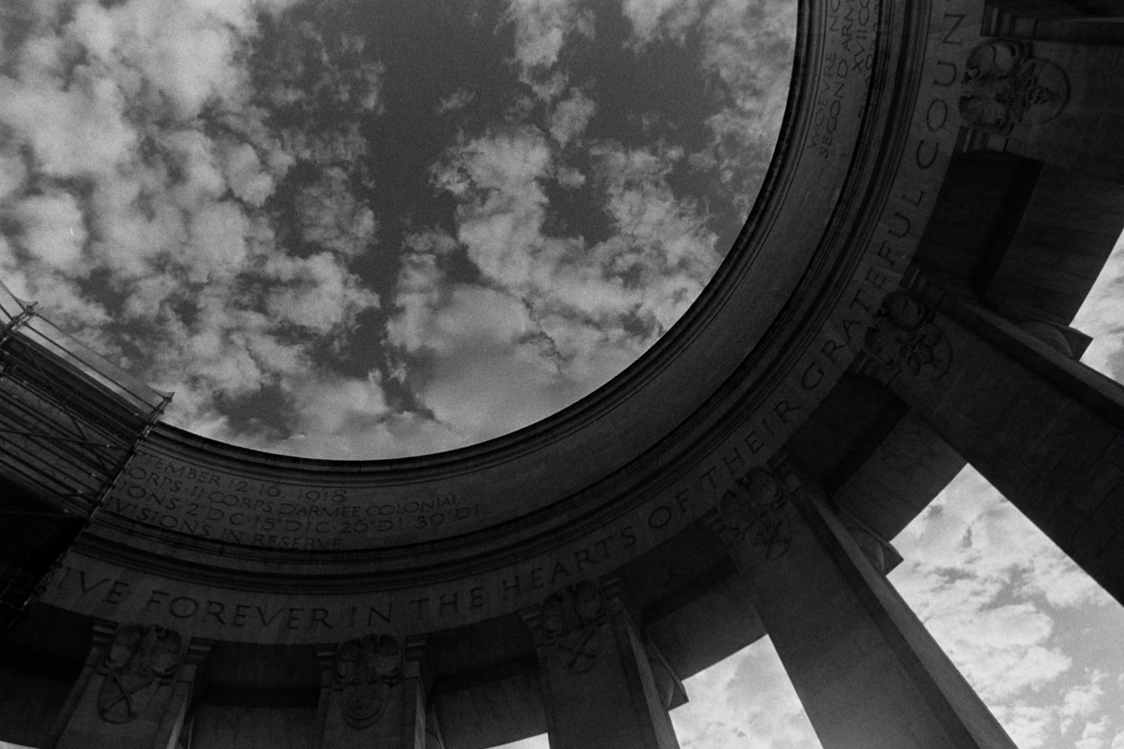 Amerikanisches Monument in Lothringen