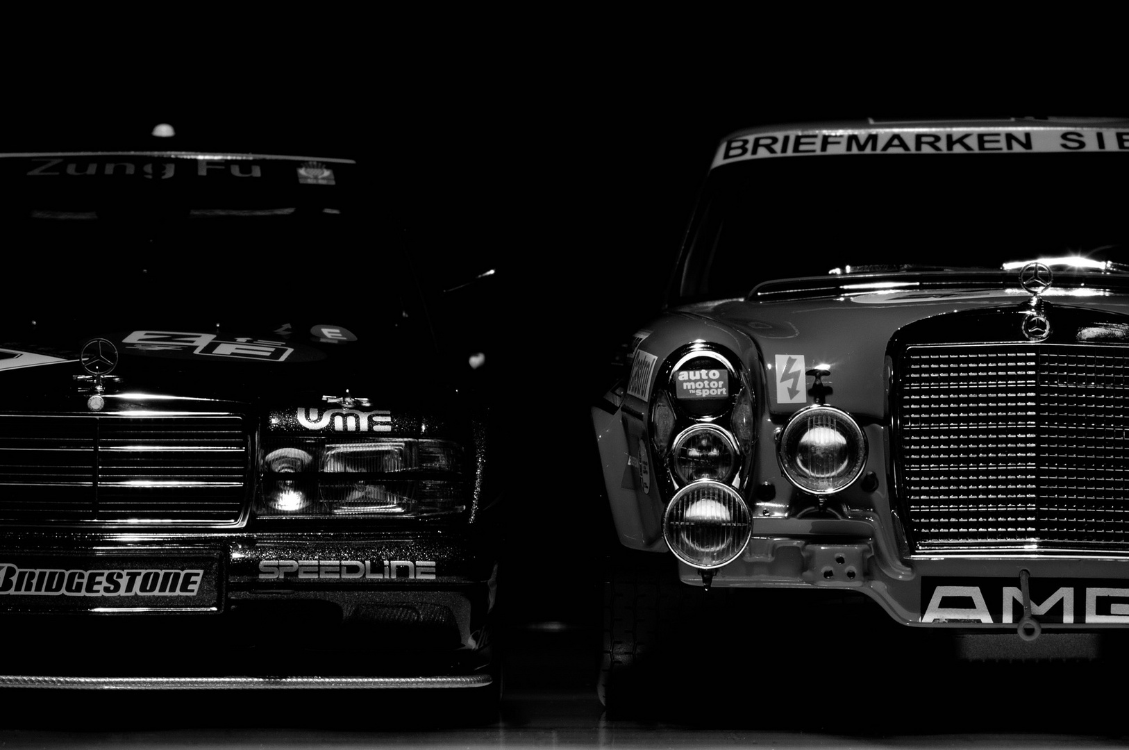 AMG Mercedes 190 EVO 2 DTM vs.AMG Mercedes 300 SEL 6.8