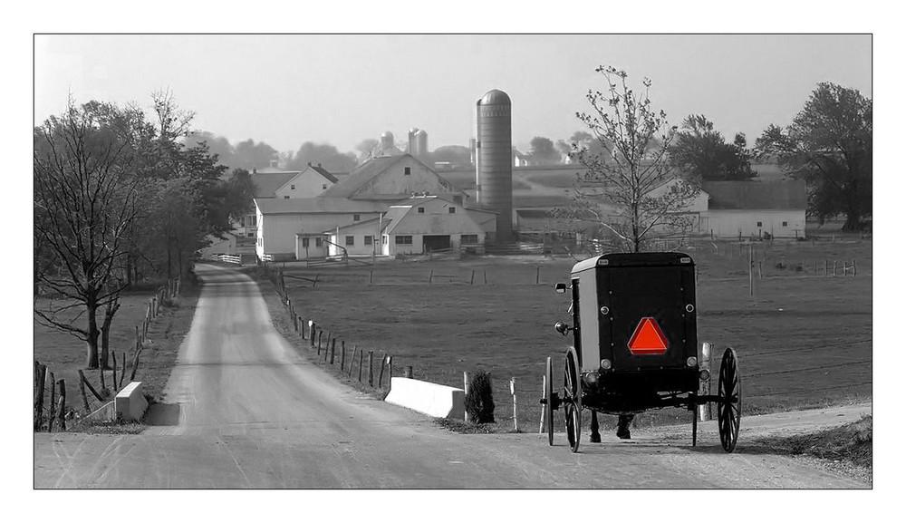 Amish Familycar