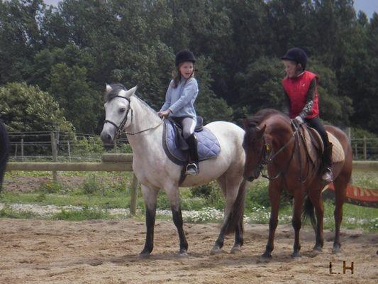 Amitiée à cheval