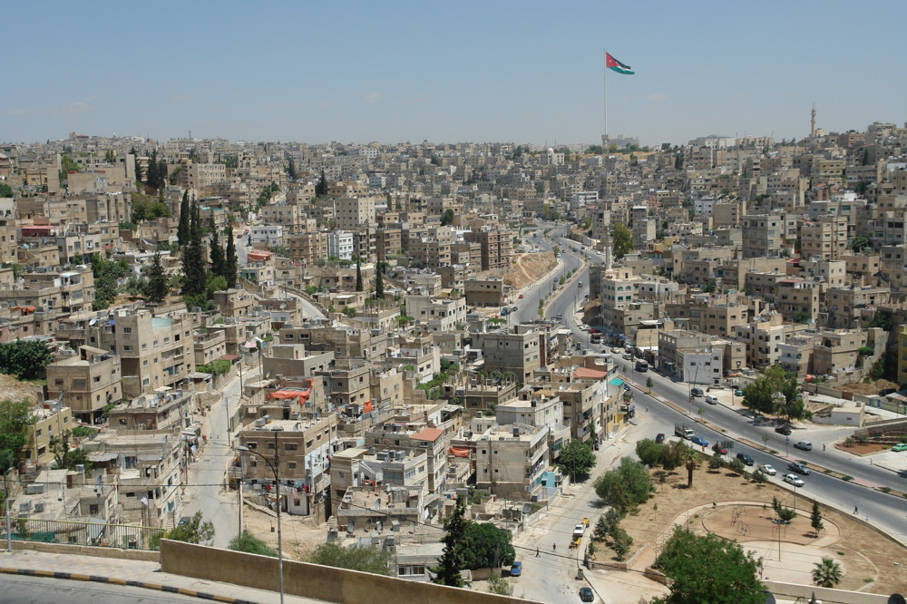 Amman, Jordanien - Blick vom Zitadellenhuegel