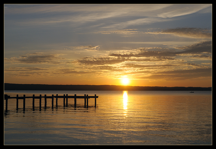 Ammersee-Postkarte