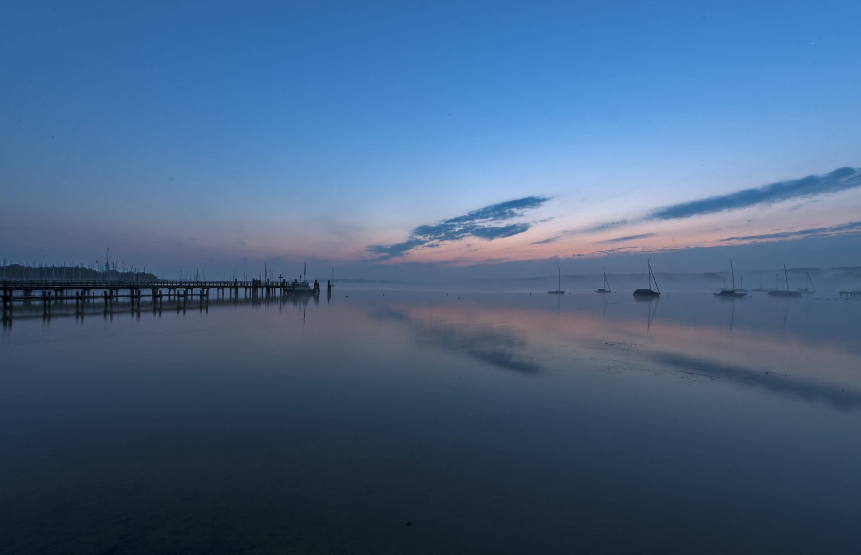 Ammersee - Sonnenaufgang 2