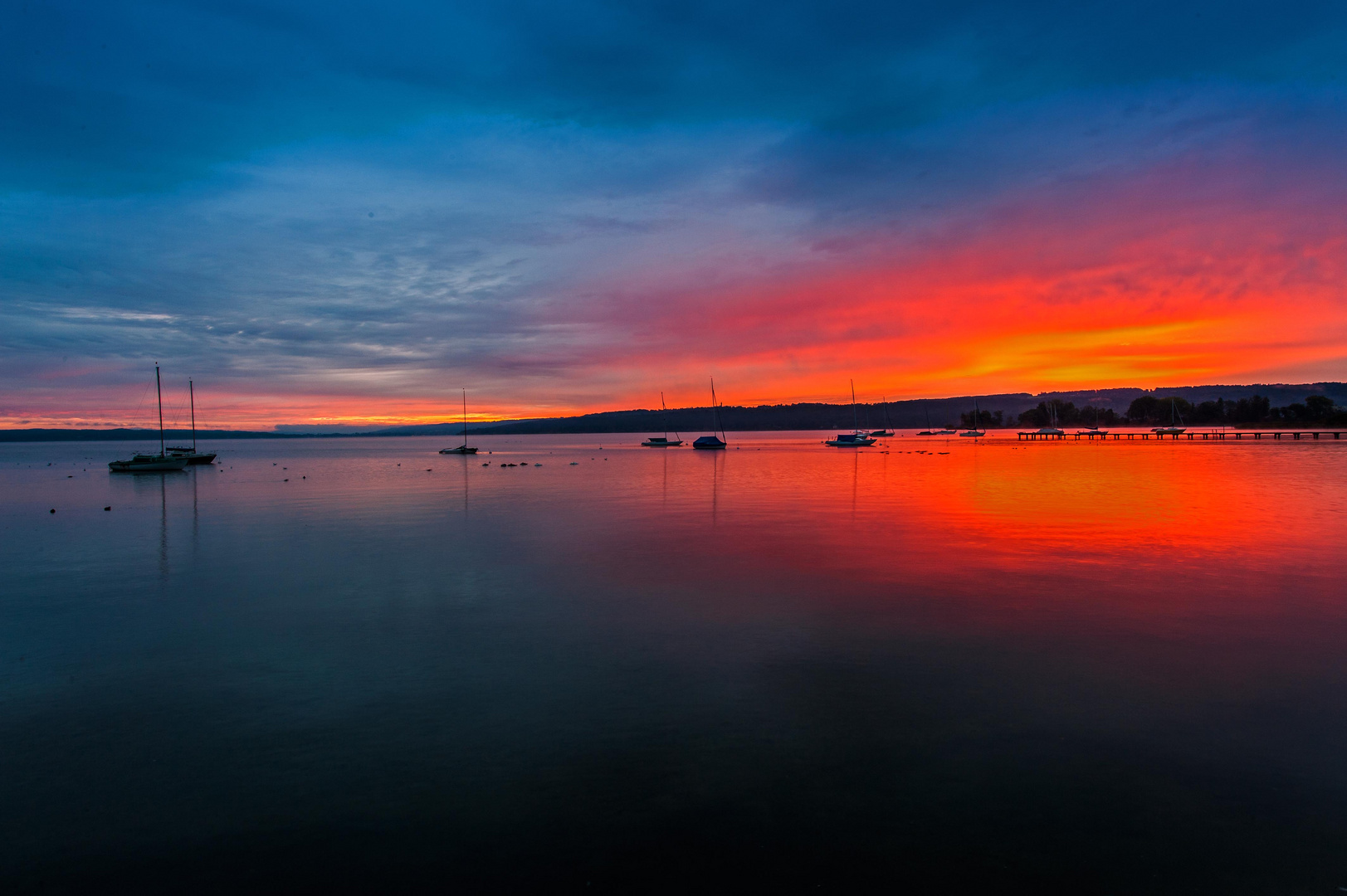 Ammersee - Sonnenaufgang