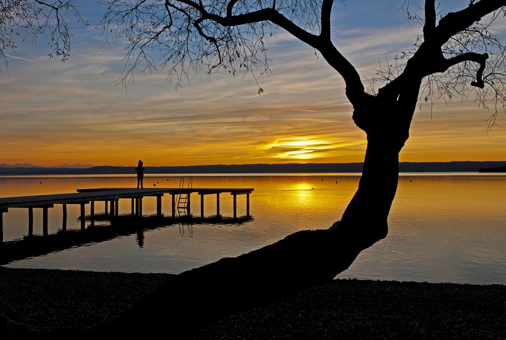 Ammersee - Sonnenuntergang
