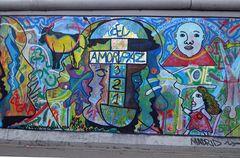 Amor Paz (East Side Gallery, Berlin)