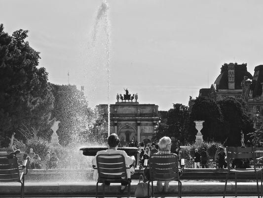 Amour aux tuileries