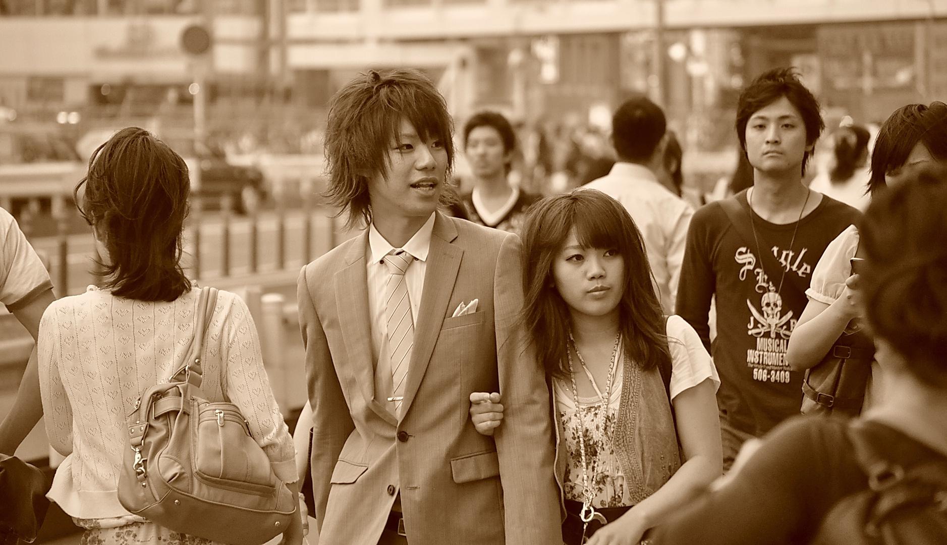 Amoureux à Tokyo
