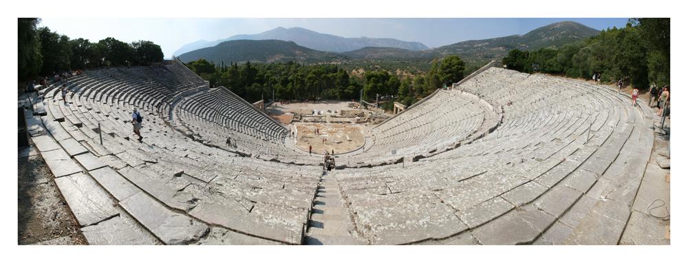 Amphitheater im Asklepiosheiligtum von Epidauros
