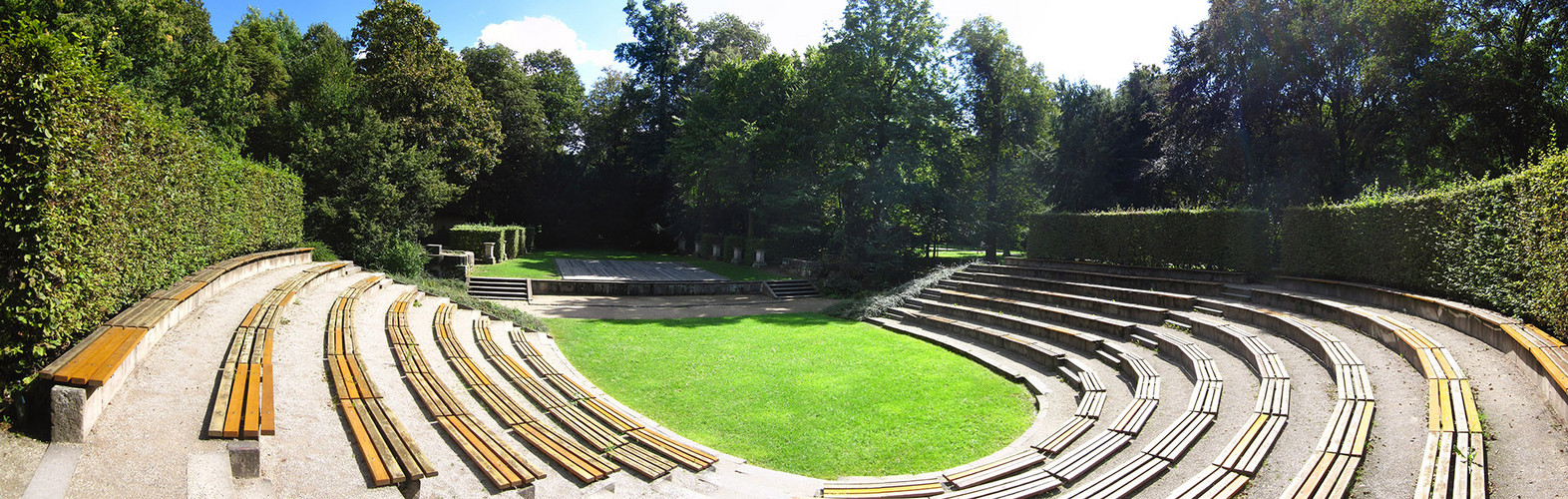 amphitheater im gro en garten dresden foto bild architektur profanbauten orte der kunst. Black Bedroom Furniture Sets. Home Design Ideas