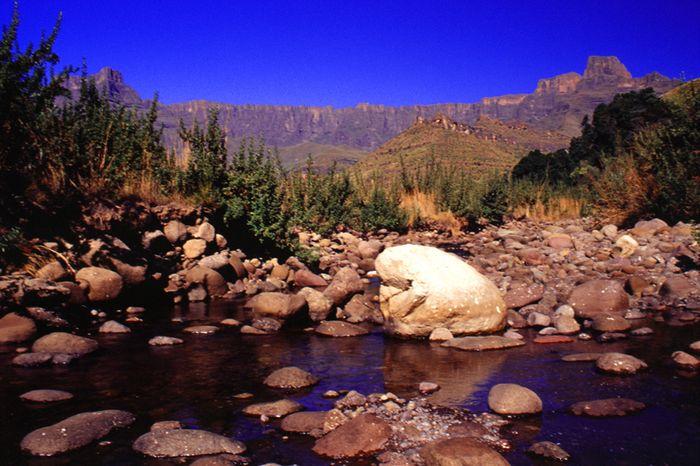 Amphitheater - Südafrikas Drakensberge