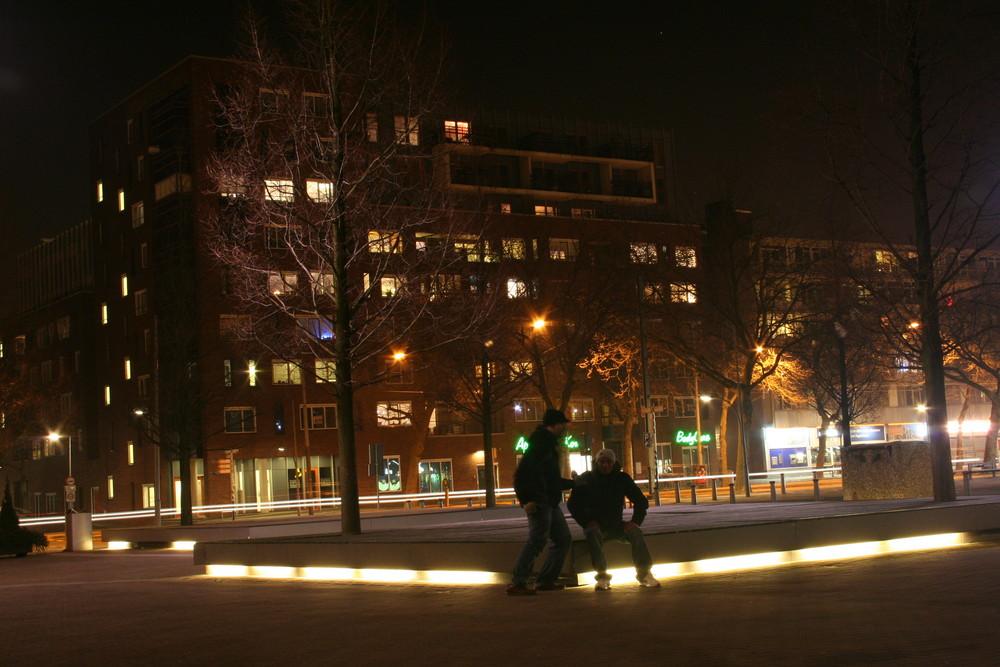 Amsterdam bei Nach
