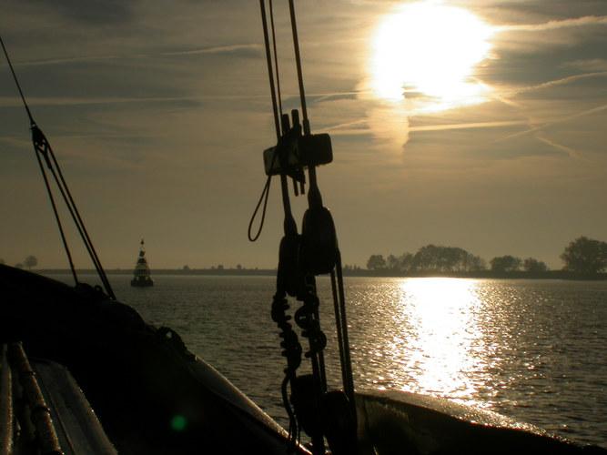 Amsterdam bei Sonnenaufgang