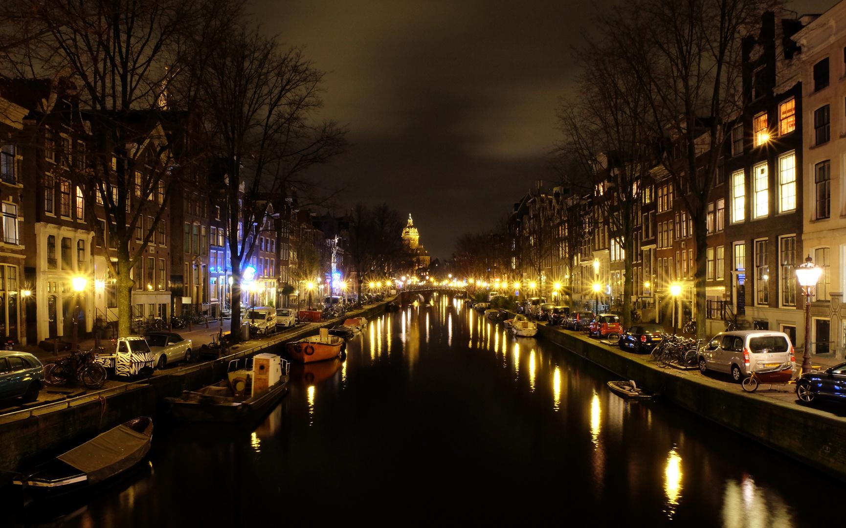 Amsterdam By Night Foto Bild City World Nacht Bilder