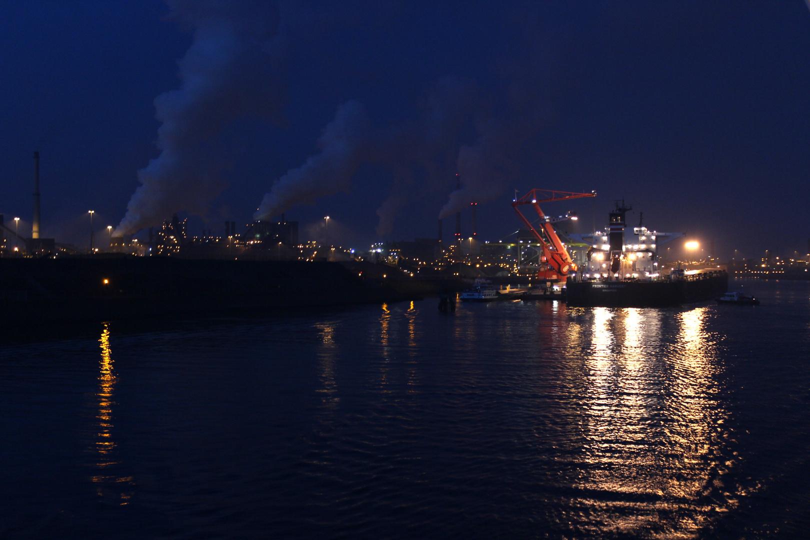 Amsterdam Container Hafen