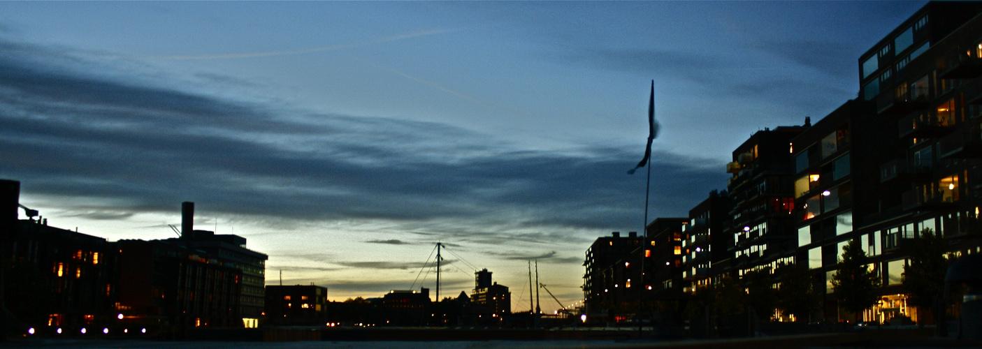 Amsterdam in der Dämmerung