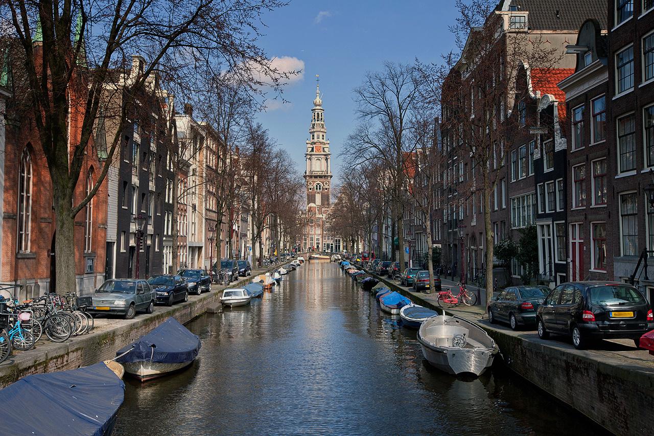 Amsterdam Morgensonne