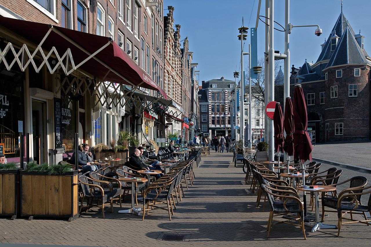 Amsterdamer Frühlingswetter