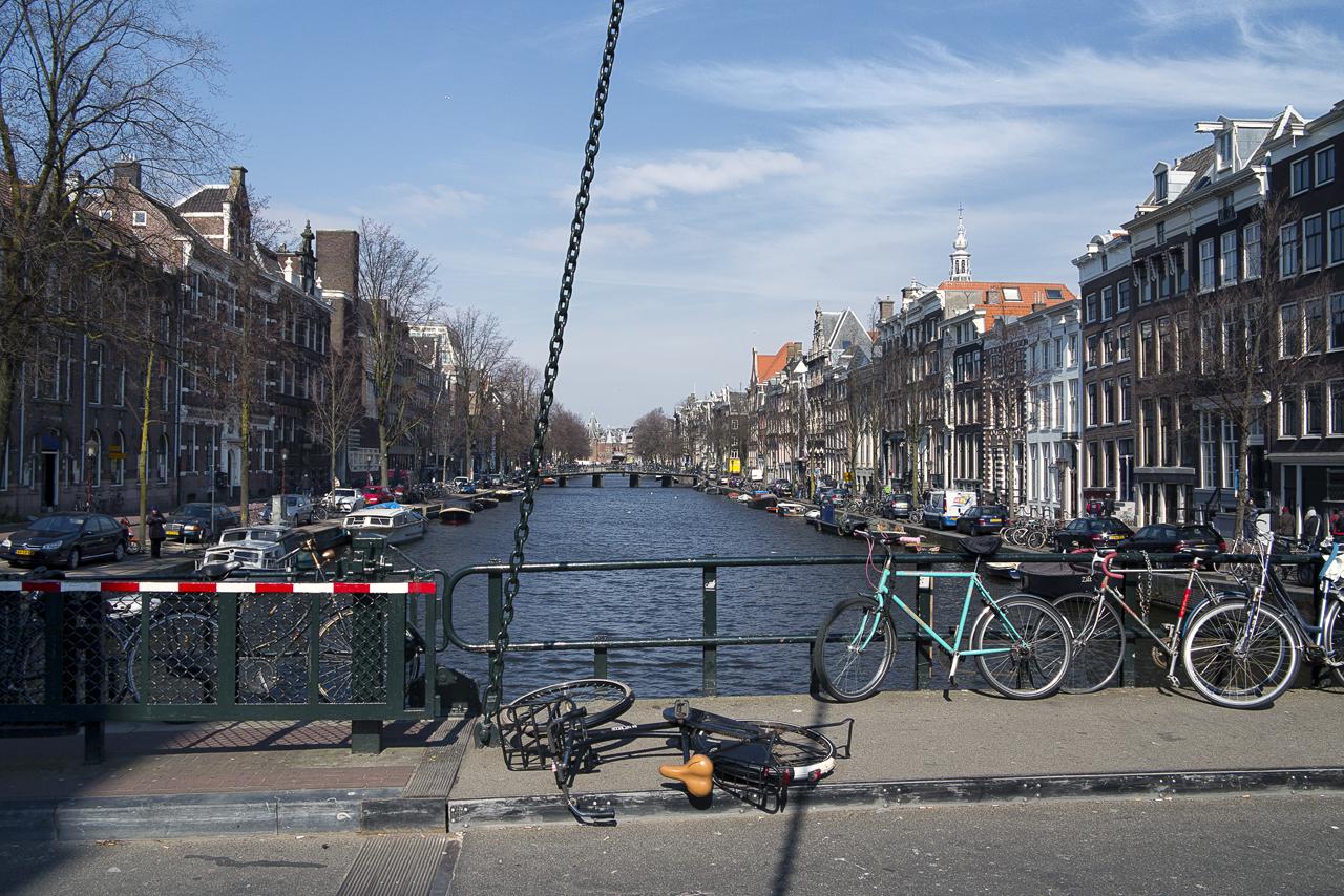 Amsterdamer Grachtenleben