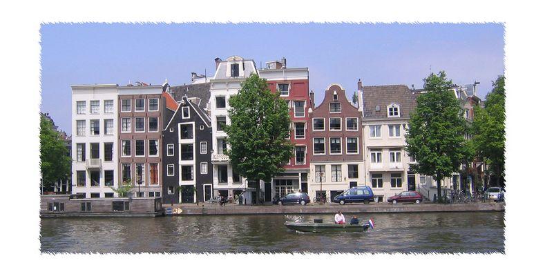 Amsterdammer Grachtenblick