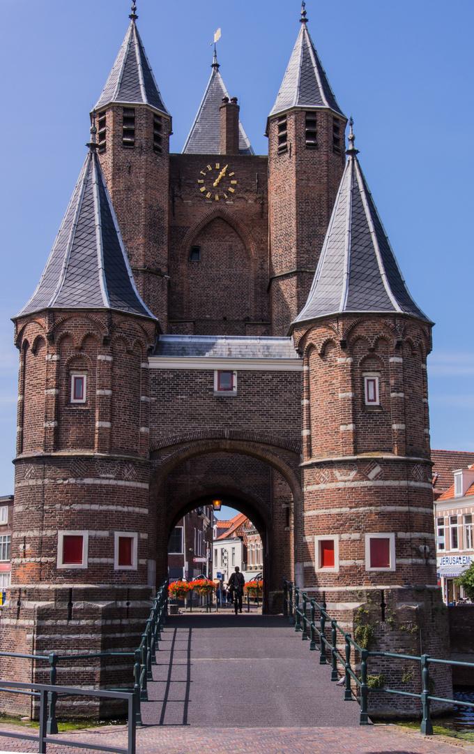 Amsterdamse Poort - ehemaliges Stadttor in Haarlem/Niederlande