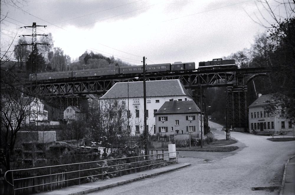 Amtshainersdorfer Viadukt .