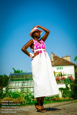 AMVOULI FIRA - SUCRE ROSE - PHOTOGRAPHE DE MODE PARIS