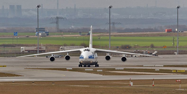 AN 124 Frontal