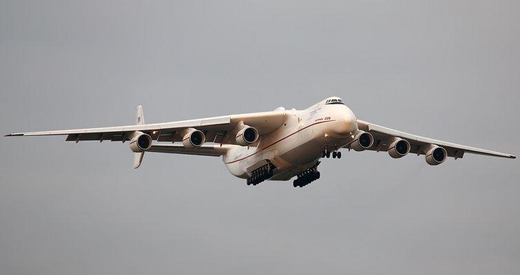 AN-225 - mehr Flugzeug geht nicht!