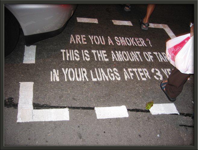 An alle Raucher.