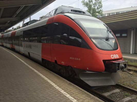 An Bahnhof von Kufstein