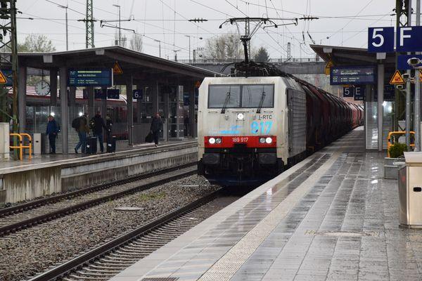 An Bahnhof von Rosenheim 2
