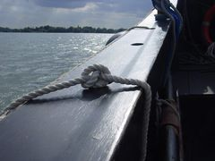 An Bord der  Kari 3