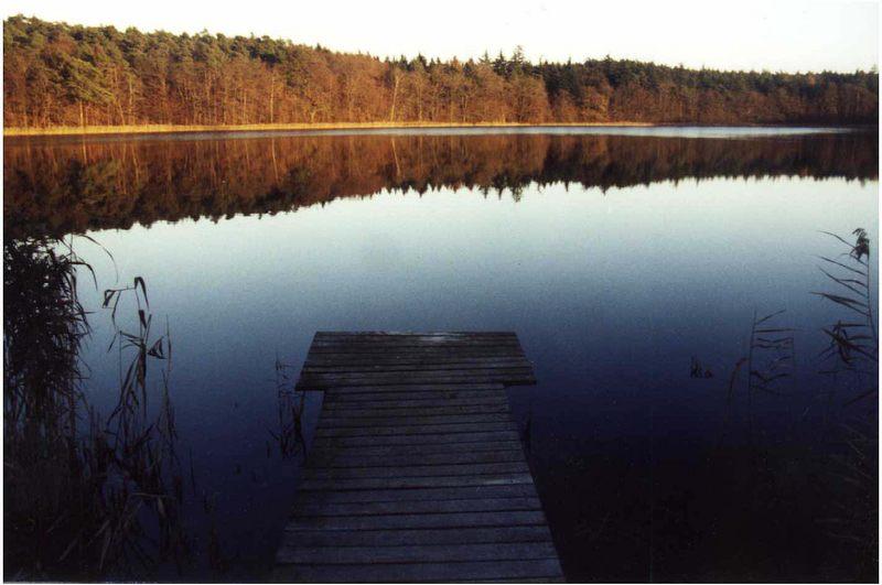 An Bornsee haben die Fische noch Ruhe