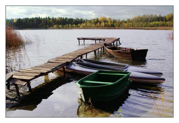 An den Lebuser Seen