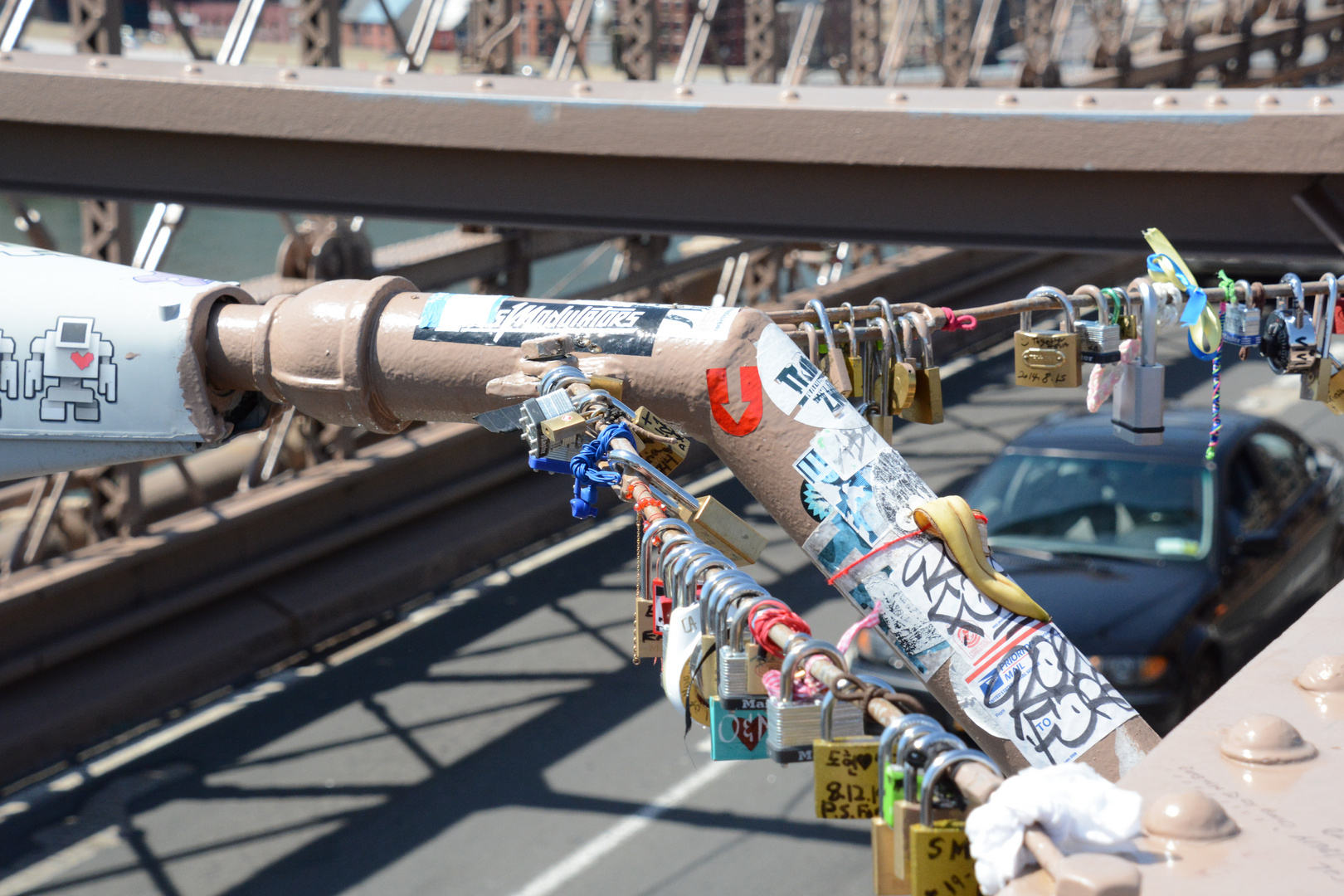 An der Brooklyn Bridge