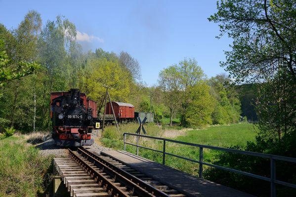An der Döllnitzbrücke ...