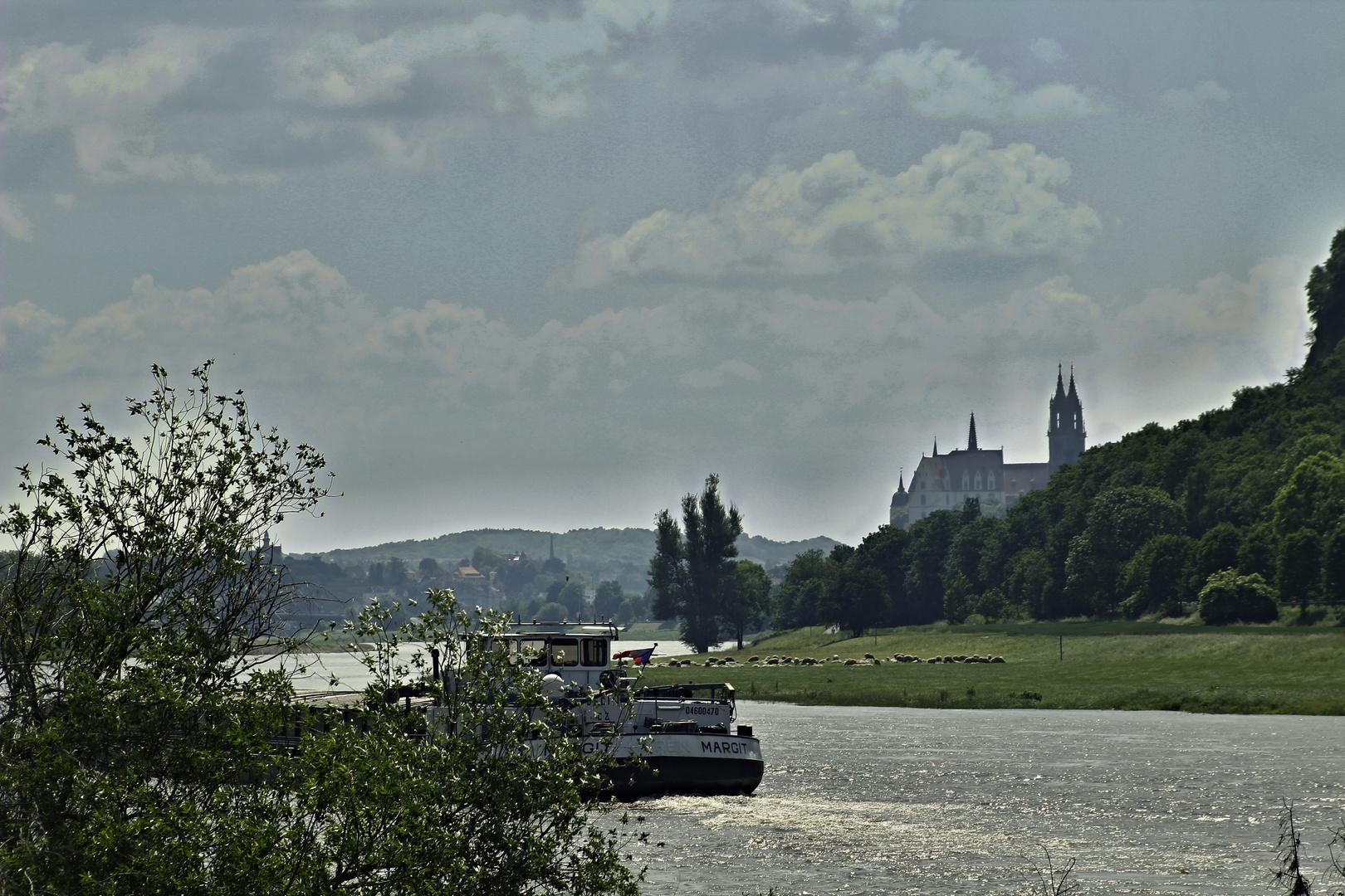 An der Elbe bei Meißen
