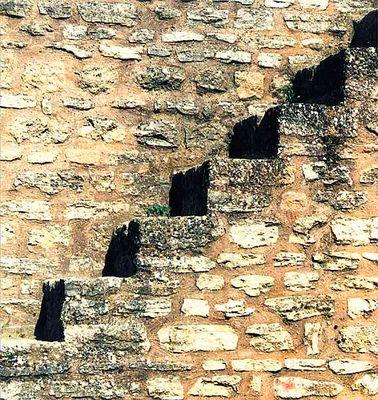 An der Festungsmauer von Ronda, Spanien