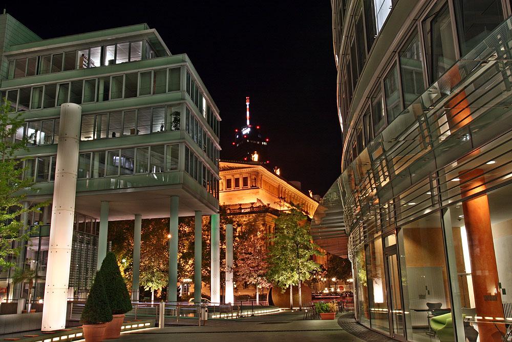 An der 'Frankfurter Welle'
