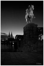 An der Hohenzollernbrücke