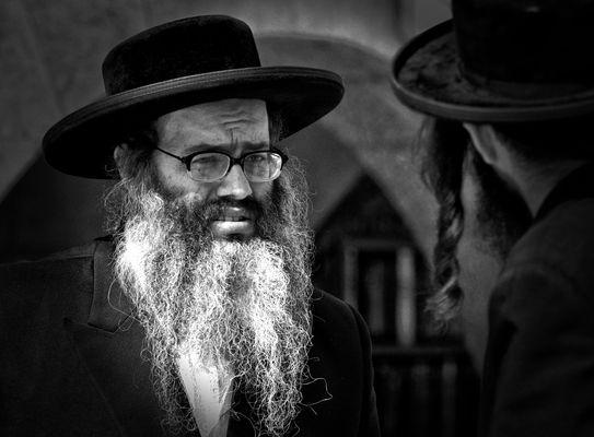 An der Klagemauer von Jerusalem