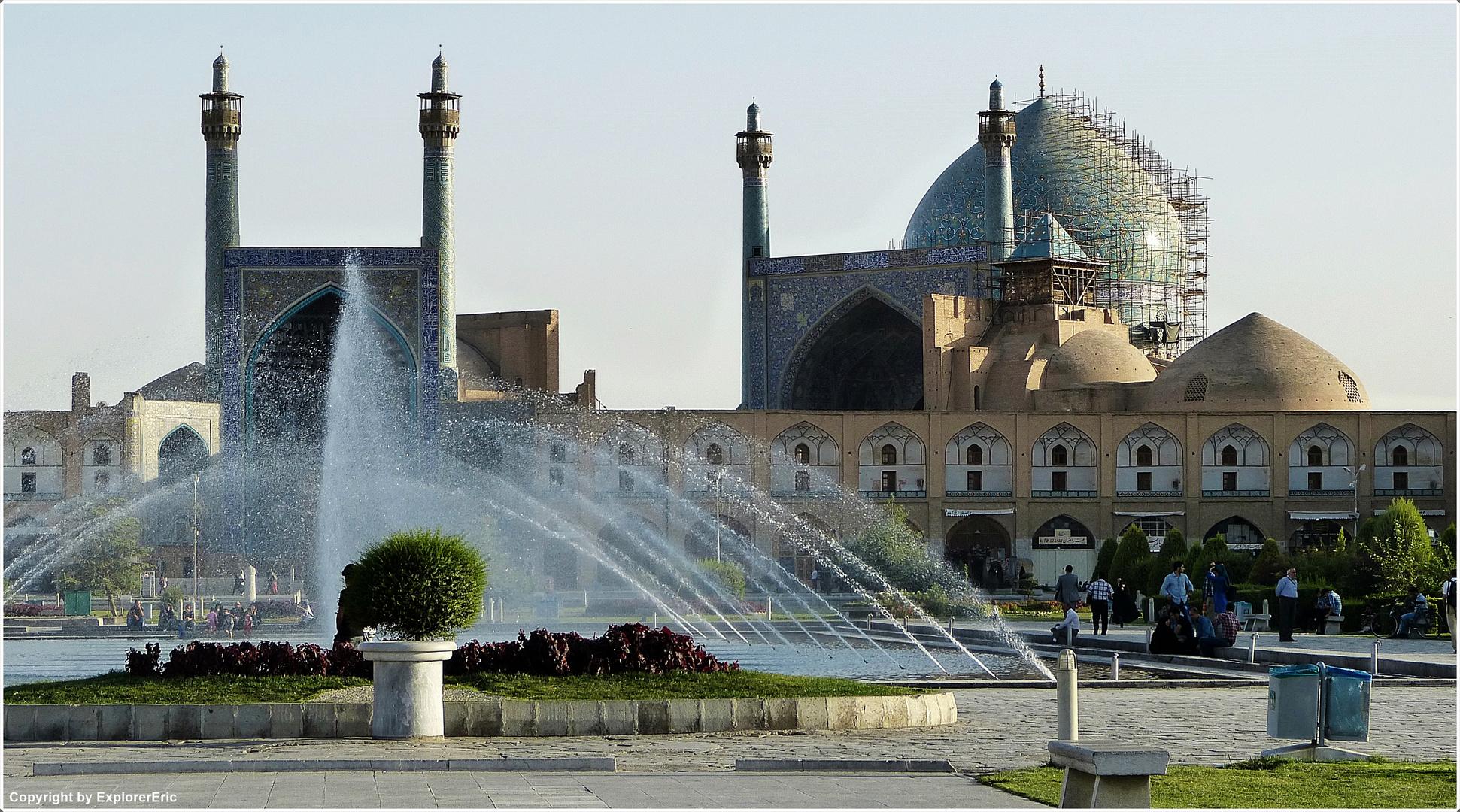 an der Maydan Iman Moschee................